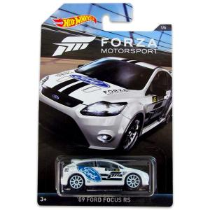 Hot Wheels Forza Racing '09 Ford Focus RS kisautó