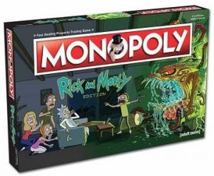 Monopoly Rick and Morty Társasjáték