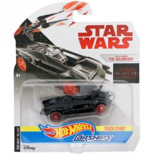 Hot Wheels Star Wars Kylo Ren TIE Silencer autóhajója