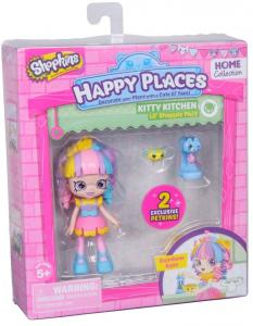 Shopkins Happy Places cicás konyha 1 db-os szett