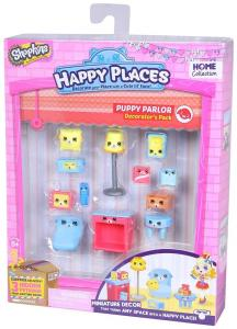 Shopkins Happy Places kiskutyás dekoráló szett