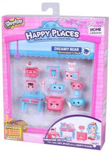 Shopkins Happy Places macis dekoráló szett