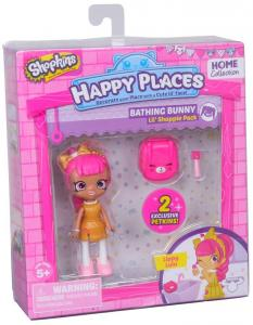 Shopkins Happy Places nyuszis fürdő 1 db-os szett